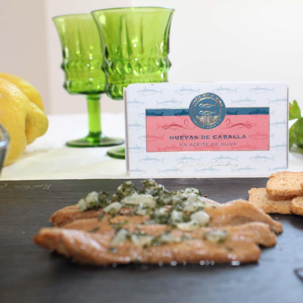 receta huevas con salsa verde