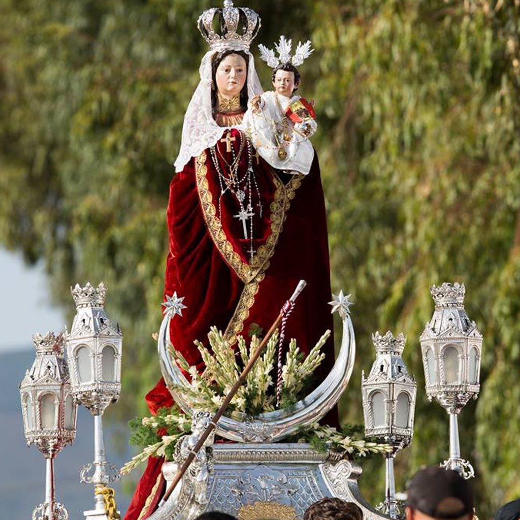 procesion Virgen de la Luz